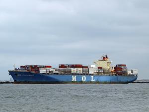 Photo of MOL PROFICIENCY ship