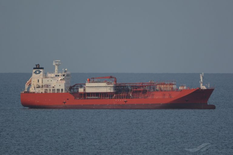 BOW GALLANT, LPG Tanker - Details and current position - IMO 9403786