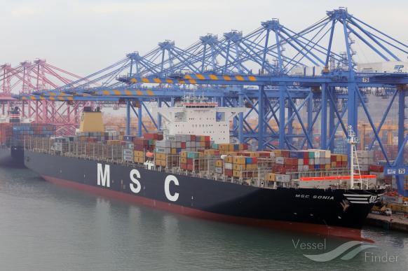 MSC SONIA, Container Ship - Details and current position