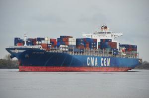 Photo of CMA CGM NERVAL ship