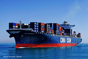 Photo of CMA CGM RABELAIS ship