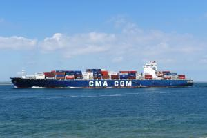 Photo of CMA CGM RACINE ship