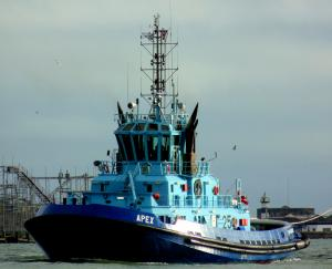 Photo of APEX ship