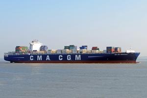 Photo of CMA CGM ANDROMEDA ship