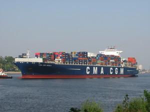 Photo of CMA CGM AQUILA ship