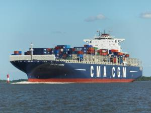 Photo of CMA CGM CASSIOPEIA ship