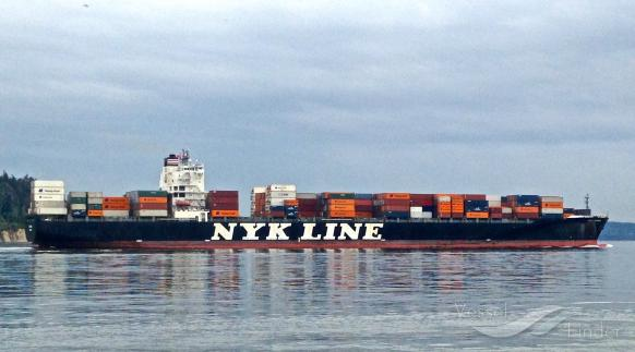 NYK RUMINA, Container Ship - Details and current position - IMO