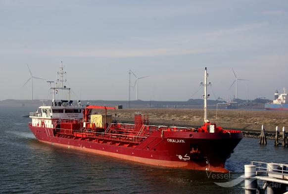 GAZPROMNEFT NORDEAST (MMSI: 273334570) ; Place: IJmuiden, Holland