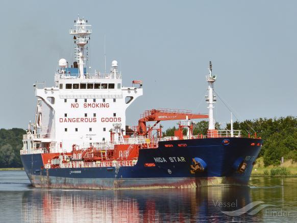 NIDA STAR (MMSI: 636092498) ; Place: Kiel Canal