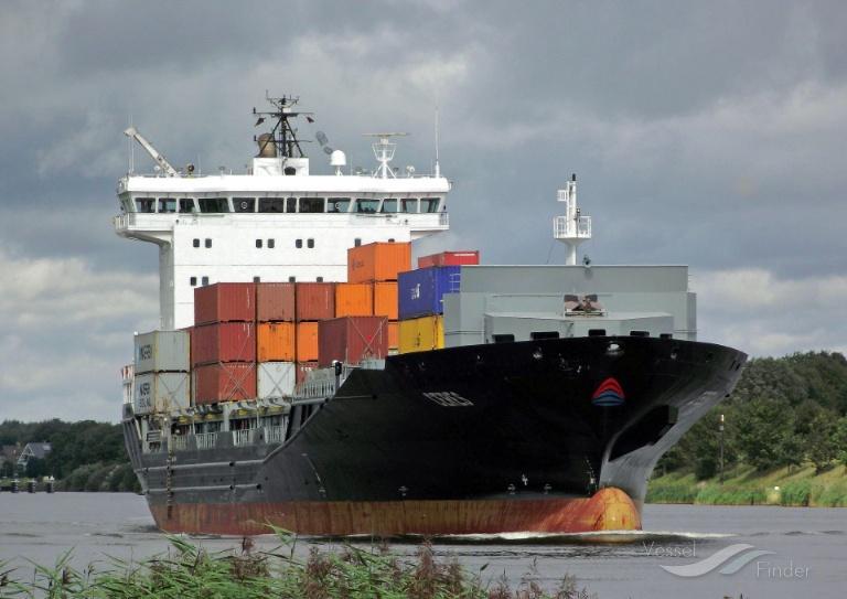BAKKAFOSS (MMSI: 305531000) ; Place: Kiel_Canal/ Germany