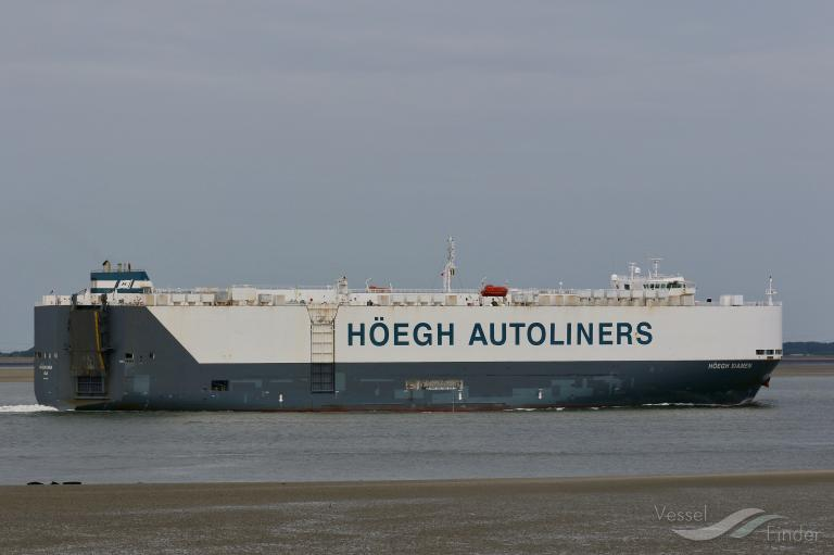 HOEGH XIAMEN, Vehicles Carrier - Details and current