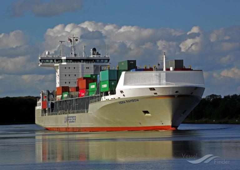 VERA RAMBOW (MMSI: 218627000) ; Place: Kiel_Canal