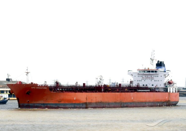CPO SINGAPORE, Chemical/Oil Products Tanker - Details and current