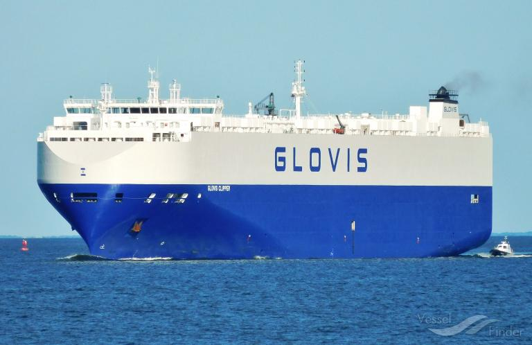 GLOVIS CLIPPER, Vehicles Carrier - Details and current