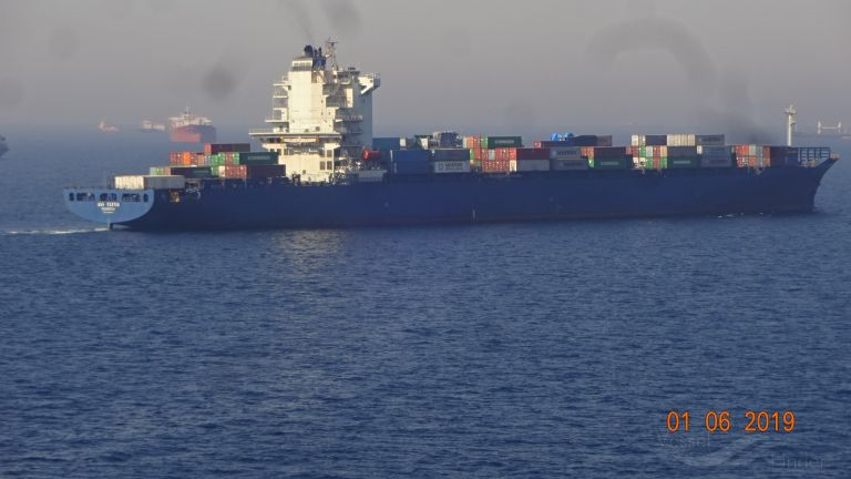ALS CLIVIA, Container Ship - Details and current position
