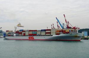 Photo of OOCL DALIAN ship