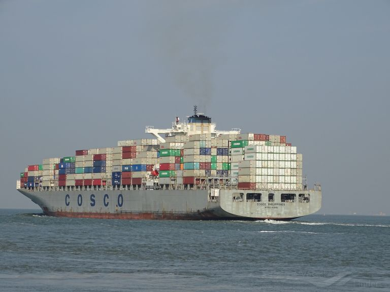 COSCO PHILIPPINES, Container Ship - Details and current position