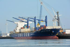 Photo of CMA CGM AFRICA ONE ship