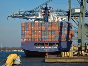 Photo of CMA CGM AFRICA FOUR ship