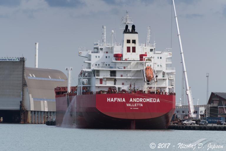 HAFNIA  ANDROMEDA (MMSI: 249456000)