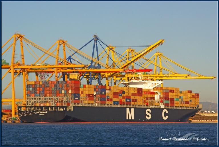 MSC CAPELLA (MMSI: 373031000) ; Place: Valencia