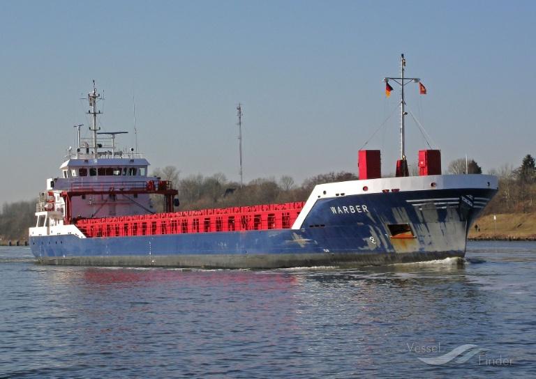 WARBER (MMSI: 245241000) ; Place: Kiel_Canal