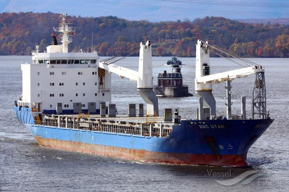BBC UTAH, General Cargo Ship - Details and current position