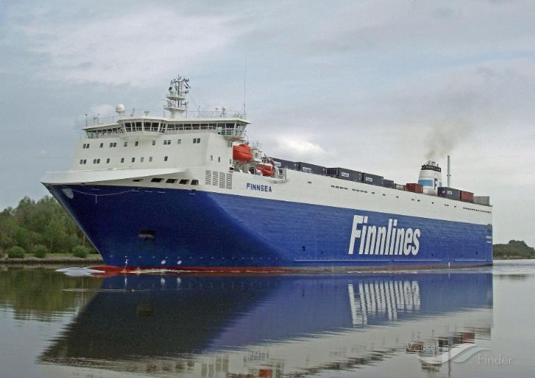 FINNSEA (MMSI: 230618000) ; Place: Kiel_Canal