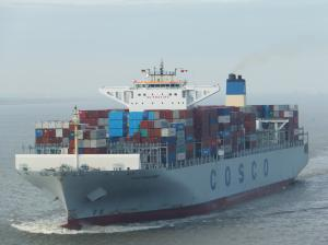 Photo of COSCO DEVELOPMENT ship