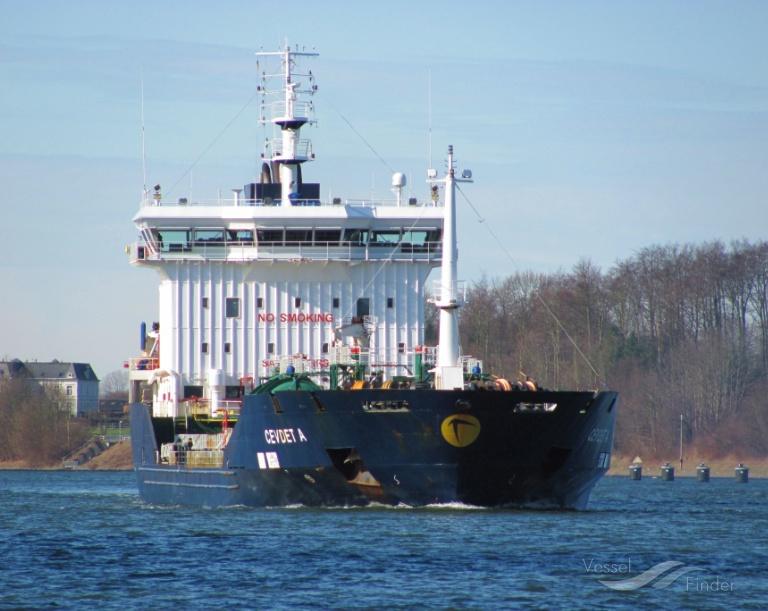 CEVDET A (MMSI: 249537000) ; Place: Kiel Canal