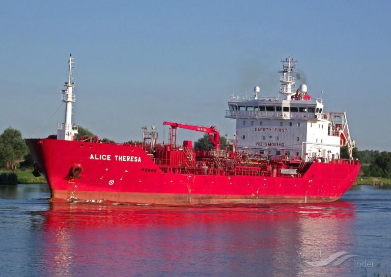 ALICE THERESA (MMSI: 219148000) ; Place: Kiel_Canal
