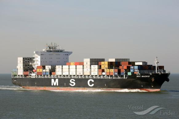 MSC MADRID, Container Ship - Details and current position - IMO
