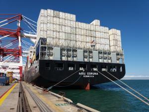 Photo of MSC CORUNA ship