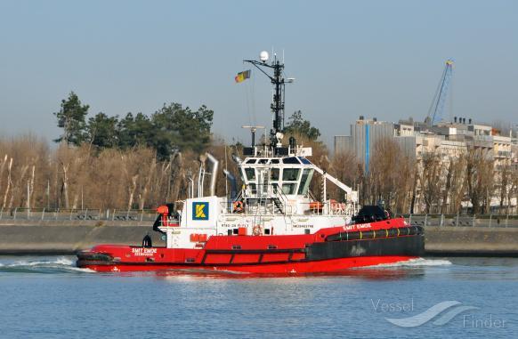 SMIT EMOE (MMSI: 205618000) ; Place: Zeebrugge