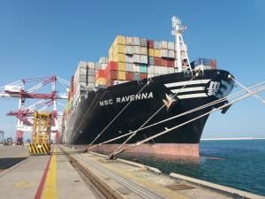 Photo of MSC RAVENNA ship