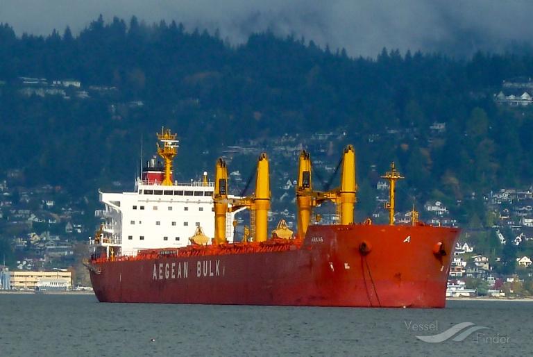 ARKAS Current position (Bulk Carrier, IMO 9486142) - VesselFinder