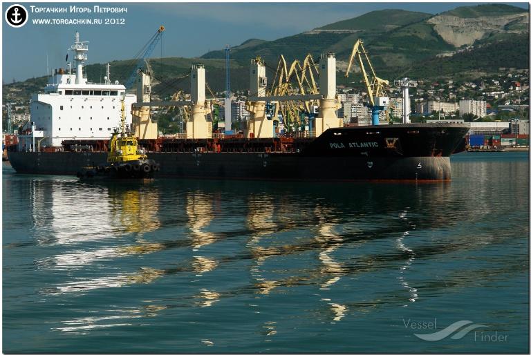 POLA ATLANTIC (MMSI: 248769000) ; Place: Port Novorossiysk, Russia.