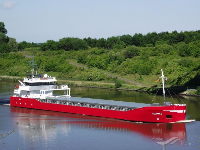 ADAMAS (MMSI: 246667000) ; Place: Grünental_ Kiel_Canal