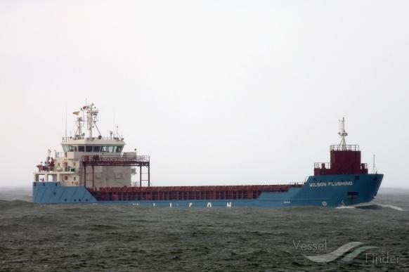 WILSON FLUSHING (MMSI: 314396000) ; Place: Rotterdam/Netherlands