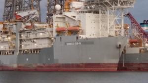 Photo of ENSCO DS5 ship