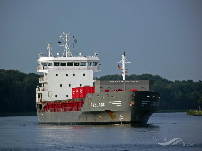 AMELAND (MMSI: 246629000) ; Place: Kiel_Canal