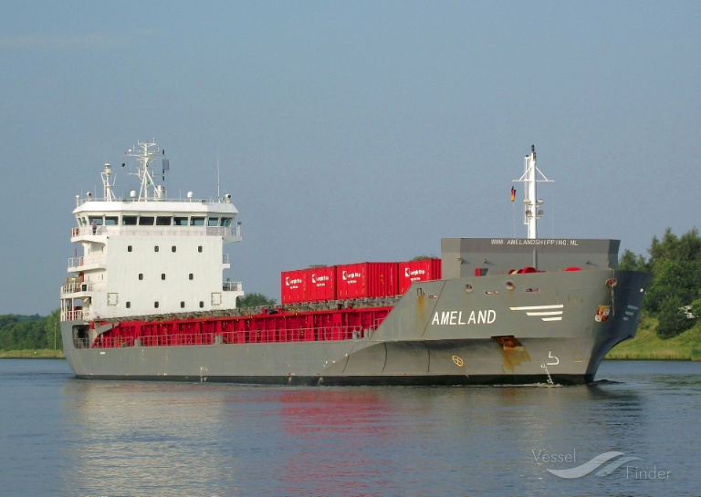 AMELAND (MMSI: 246629000) ; Place: Kiel_Canal/ Germany