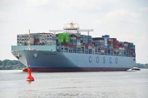 Photo of COSCO ENGLAND ship