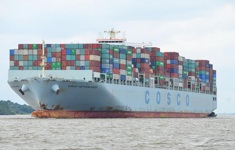 COSCO NETHERLANDS, Container Ship - Details and current position