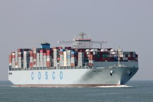 Photo of COSCO SPAIN ship