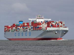 Photo of COSCO DENMARK ship