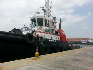 Photo of MANFU I ship