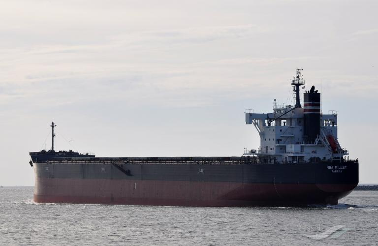 NBA MILLET, Bulk Carrier - Details and current position - IMO