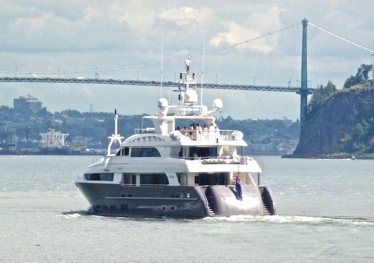 KOMOKWA - Yacht (IMO: 9521069, MMSI: 339653000 ...