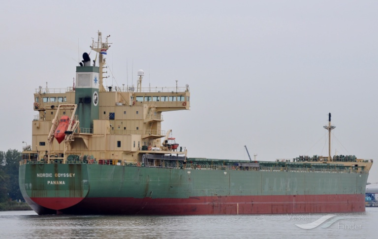 NORDIC ODYSSEY, Bulk Carrier - Details and current position